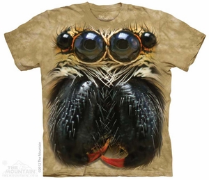 Spider Eyes Shirt Tie Dye Adult T-Shirt Tee