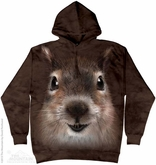 Squirrel Hoodie Tie Dye Adult Hooded Sweat Shirt Hoody