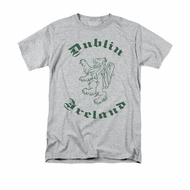 St. Patrick's Day Shirt Dublin Ireland Adult Athletic Heather Tee T-Shirt