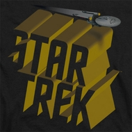 Star Trek 3D Logo Shirts