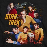 Star Trek At The Controls Shirts