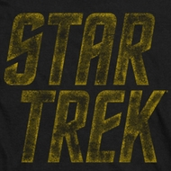 Star Trek Distressed Logo Shirts