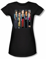 Star Trek Juniors T-shirt - The Captains Black Tee