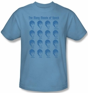 Star Trek Kids T-shirt - Many Moods Of Spook Youth Carolina Blue Tee