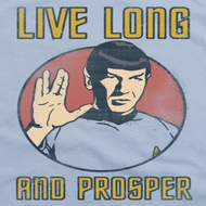 Star Trek Live Long Shirts