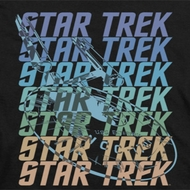 Star Trek Multi Logo Shirts
