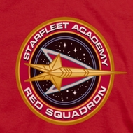Star Trek Red Squadron Shirts