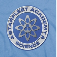Star Trek Science Shirts