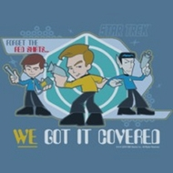 Star Trek Shirts - Crew We Got It Covered T-Shirts