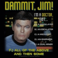 Star Trek Shirts - Dr McCoy All of The Above T-Shirts