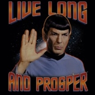 Star Trek Shirts - Live Long And Prosper T-Shirts