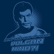 Star Trek Shirts - McCoy Vulcan Mind T-Shirts