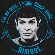 Star Trek - The Original Series Almost Smile Shirts