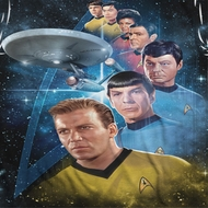 Star Trek - The Original Series Among The Stars Sublimation Shirts