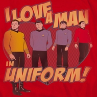 Star Trek - The Original Series Man In Uniform Shirts