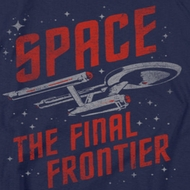 Star Trek - The Original Series Space Travel Shirts