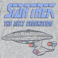 Star Trek - The Next Generation Distressed TNG Shirts