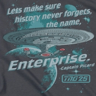 Star Trek - The Next Generation Never Forget Shirts