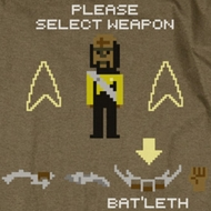 Star Trek - The Next Generation Select Weapon Shirts