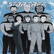 Star Trek - The Next Generation TNG Comic Cast Sublimation Shirts