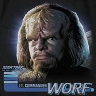 Star Trek - The Next Generation TNG Worf Shirts