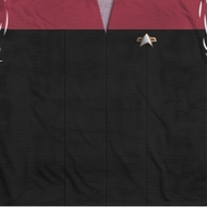 Star Trek - The Next Generation Voyager Command Uniform Sublimation Shirts