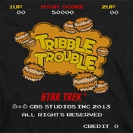 Star Trek Tribble Trouble Arcade Shirts