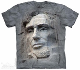 Stone Lincoln Shirt Tie Dye Adult T-Shirt Tee