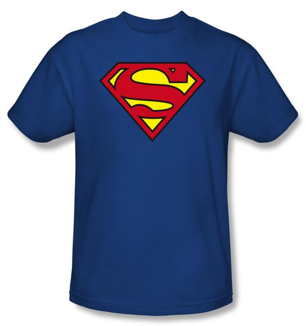 Superman Shirts & Hoodies Be like the man of steel when you sport the classic logo across your chest with one of our Superman shirts or hoodies! These adult and kids Superman T-Shirts and hoodies come in mens and womens sizes and also in vintage and classic styles.