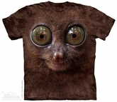 Tarsier Face Shirt Tie Dye Adult T-Shirt Tee