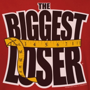 The Biggest Loser Logo Red Shirts