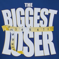 The Biggest Loser White Logo Shirts