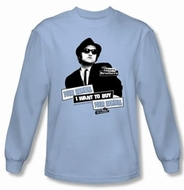 The Blues Brothers Long Sleeve Shirts