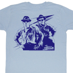 The Blues Brothers Shirt Make It Rain Adult Blue Tee T-Shirt