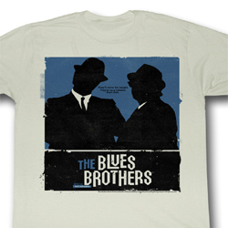 The Blues Brothers Shirt Minimalism Adult Natural Tee T-Shirt