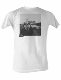 The Blues Brothers T-shirt Hip To B Square Adult White Tee Shirt