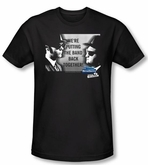 The Blues Brothers T-shirt Movie Band Black Slim Fit Tee Shirt