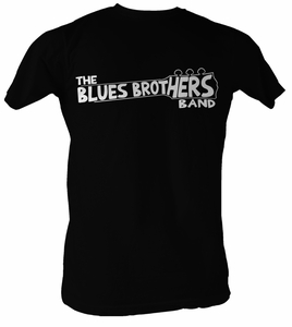 The Blues Brothers T-shirt Movie BLU Band Adult Black Tee Shirt