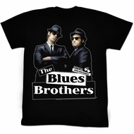 The Blues Brothers T-shirt Movie New Blue Adult Black Tee Shirt