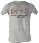 The Blues Brothers T-shirt Movie Rays Adult Grey Tee Shirt