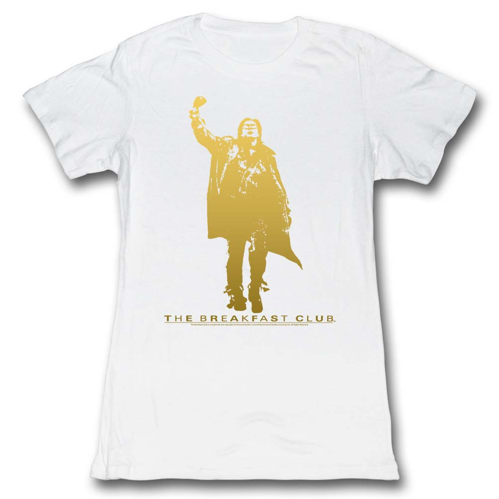 the breakfast club shirts movie t shirts the breakfast club shirt juniors gold fist pump white t shirt