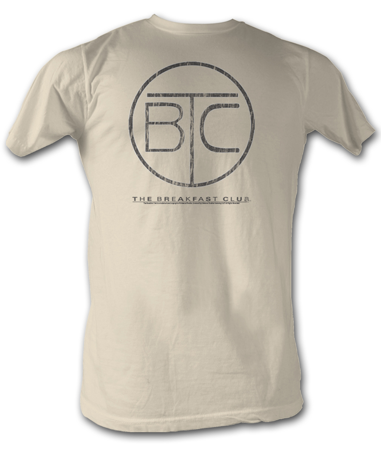 the breakfast club shirts movie t shirts the breakfast club t shirt bfc circle logo dirty white tee shirt