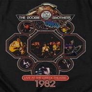 The Doobie Brothers 1982 Shirts