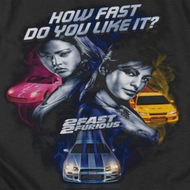 The Fast And The Furious Fast Women Shirts