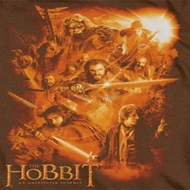 The Hobbit Golden Shirts