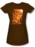 The Hobbit Juniors Shirt Movie Unexpected Journey Adventure Coffee Tee