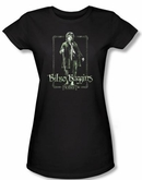 The Hobbit Juniors Shirt Movie Unexpected Journey Bilbo Black Tee