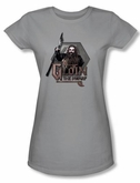 The Hobbit Juniors Shirt Movie Unexpected Journey Gloin Silver Tee