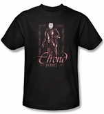 The Hobbit Kids Shirt Movie Unexpected Journey Elrond Black T-shirt