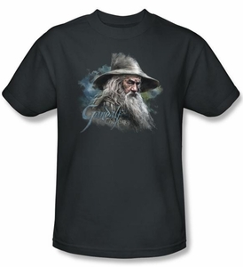 The Hobbit Kids Shirt Movie Unexpected Journey Gandalf Charcoal Tee